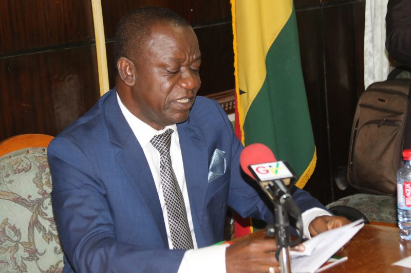Image result for Deputy Minister of Food and Agriculture in charge of Crops, George Oduro